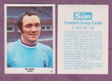 Coventry City Roy Barry 87